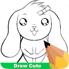 How To Draw Cute icon