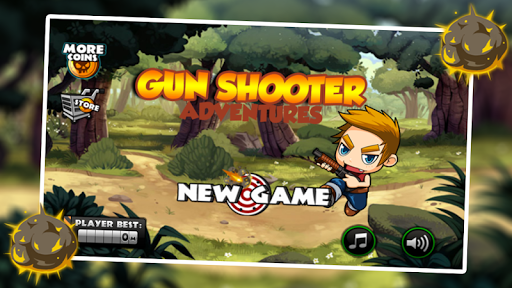 Gun Shooter Adventures captures d'u00e9cran 1