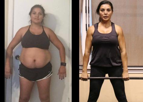 Alejandra lost 20 pounds in 90 days