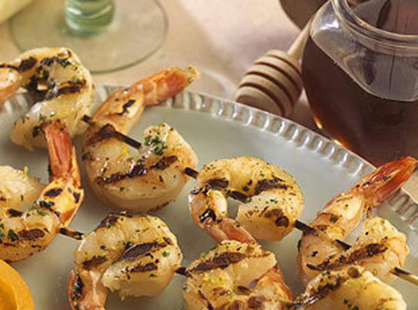 Grilled Honey Glazed Shrimp Recipe