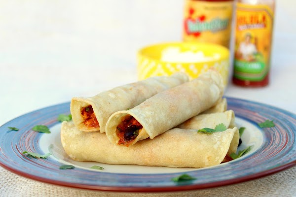 Serve with sour cream or salsa or what ever you prefer. You can substitute...