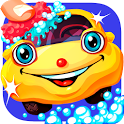 Little Car Wash - The free cars fun game for kids icon