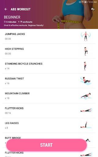 Women Workout at Home - Female Fitness 1.1.8 screenshots 11