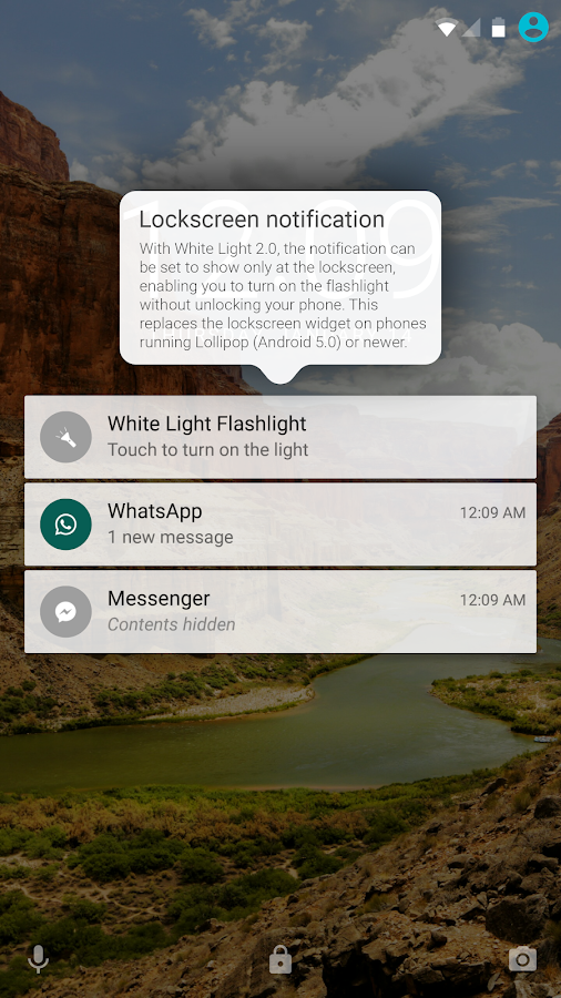 White Light Flashlight- screenshot