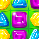 Gummy Drop! Match to restore and build cities icon
