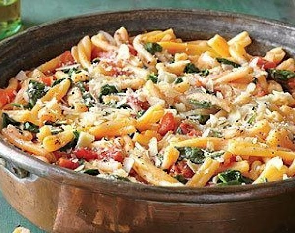 One Pot Pasta With Tomato-basil Sauce Recipe