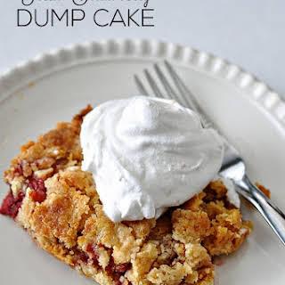 Strawberry Dump Cake.