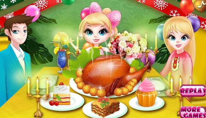 Cooking Turkey Thanksgiving - screenshot