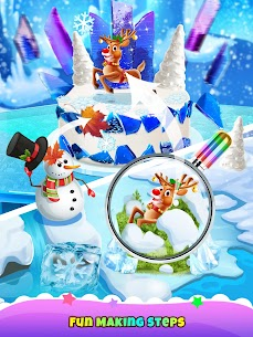 Icy Cake Desserts – Princess Ice Food 5