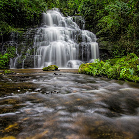 by Gurung Purna - Nature Up Close Water ( water, falls )
