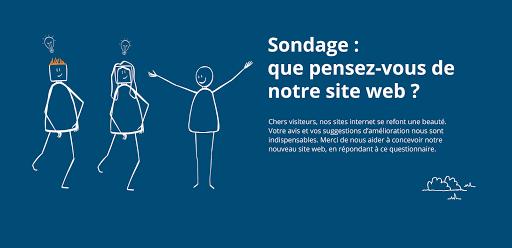 sondage site Internet L'Arche La Vallée