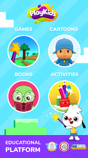 PlayKids - Educational cartoons and games for kids screenshot 1