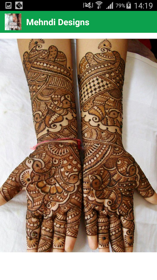 Mehndi App For Android : Mehndi design android apps on google play