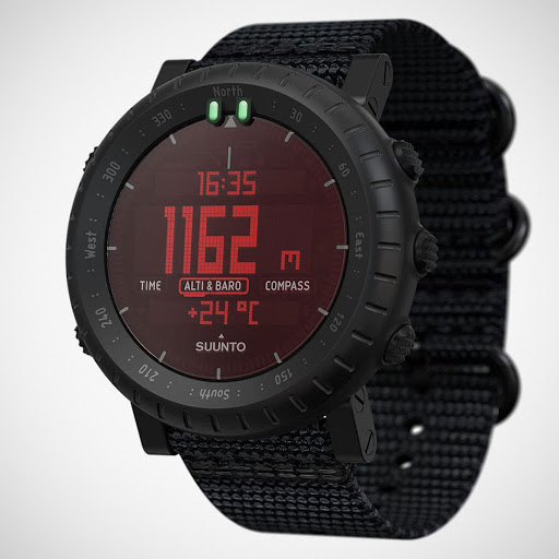 Suunto CORE Alpha Stealth Is A Rugged, Military-beautiful Outdoor Watch
