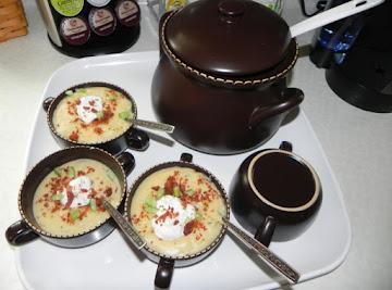 Pot O' Gold Potato Soup Recipe