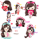 Download Sticker for Pretty Girls - For whatsapp For PC Windows and Mac