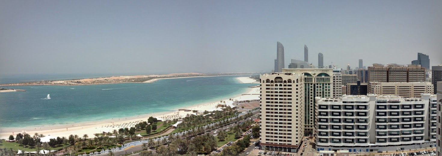 Abu Dhabi sea view
