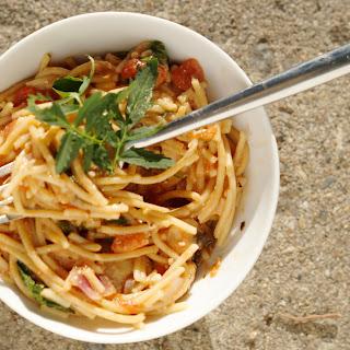 The Easiest, Tastiest Spaghetti Ever