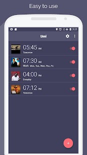Umi - alarm clock for Spotify ☝ - náhled