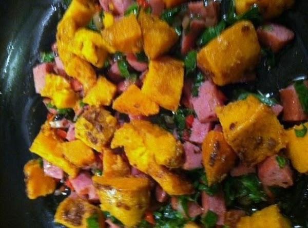 Taters N Spinach Saute Recipe