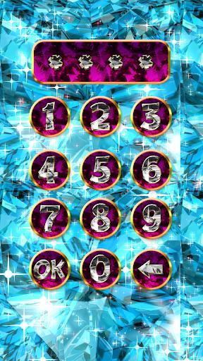 Diamond lock screen. ss1