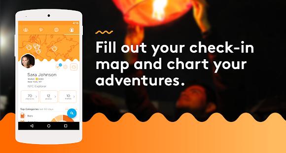 Foursquare Swarm: Check In Screenshot 3