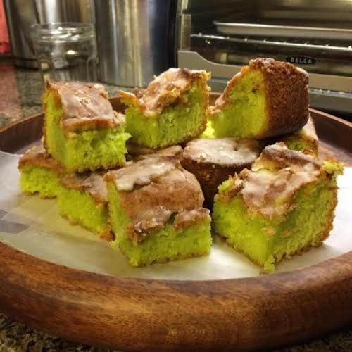 """Lime Shamrock Cake """"This cake is so easy and a nice surprise..."""