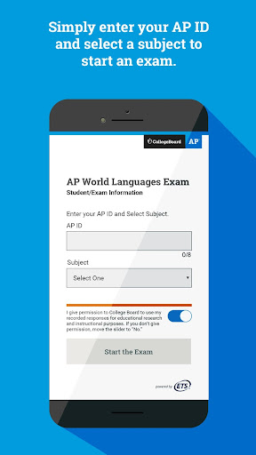 AP World Languages Exam App (AP WLEA) screenshot 1