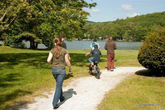 Photo: Heading down to the water, Lake St. Catherine State Park