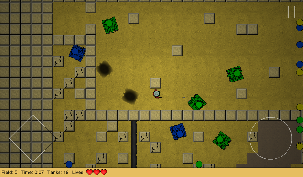 Shooting Tanks- screenshot