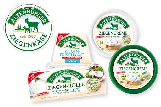 Bild für Cashback-Angebot: Der Grüne Altenburger Ziegenkäse