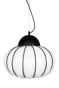 Globen Lighting Mayflower Taklamap Vit/Svart 45 cm - lavanille.com