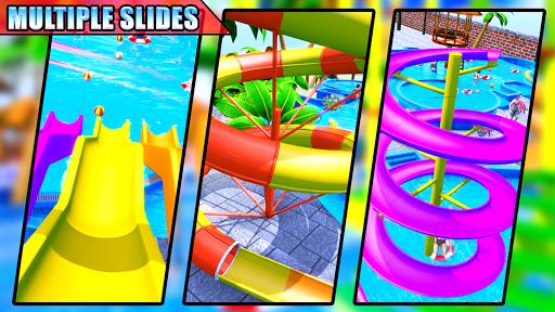 Water Sliding Adventure Park - Water Slide Games android2mod screenshots 12