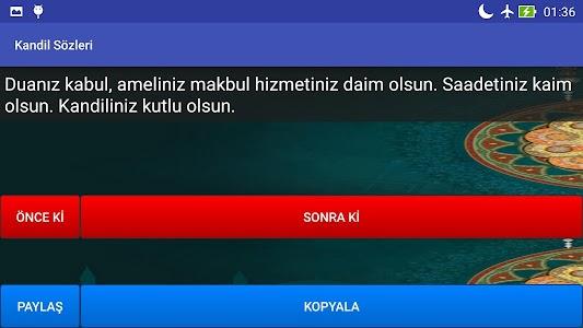 Kandil Sözleri screenshot 5
