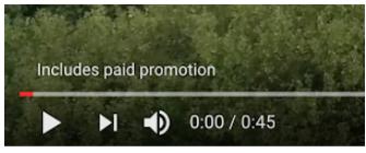 Từ chối trách nhiệm nội dung trên video