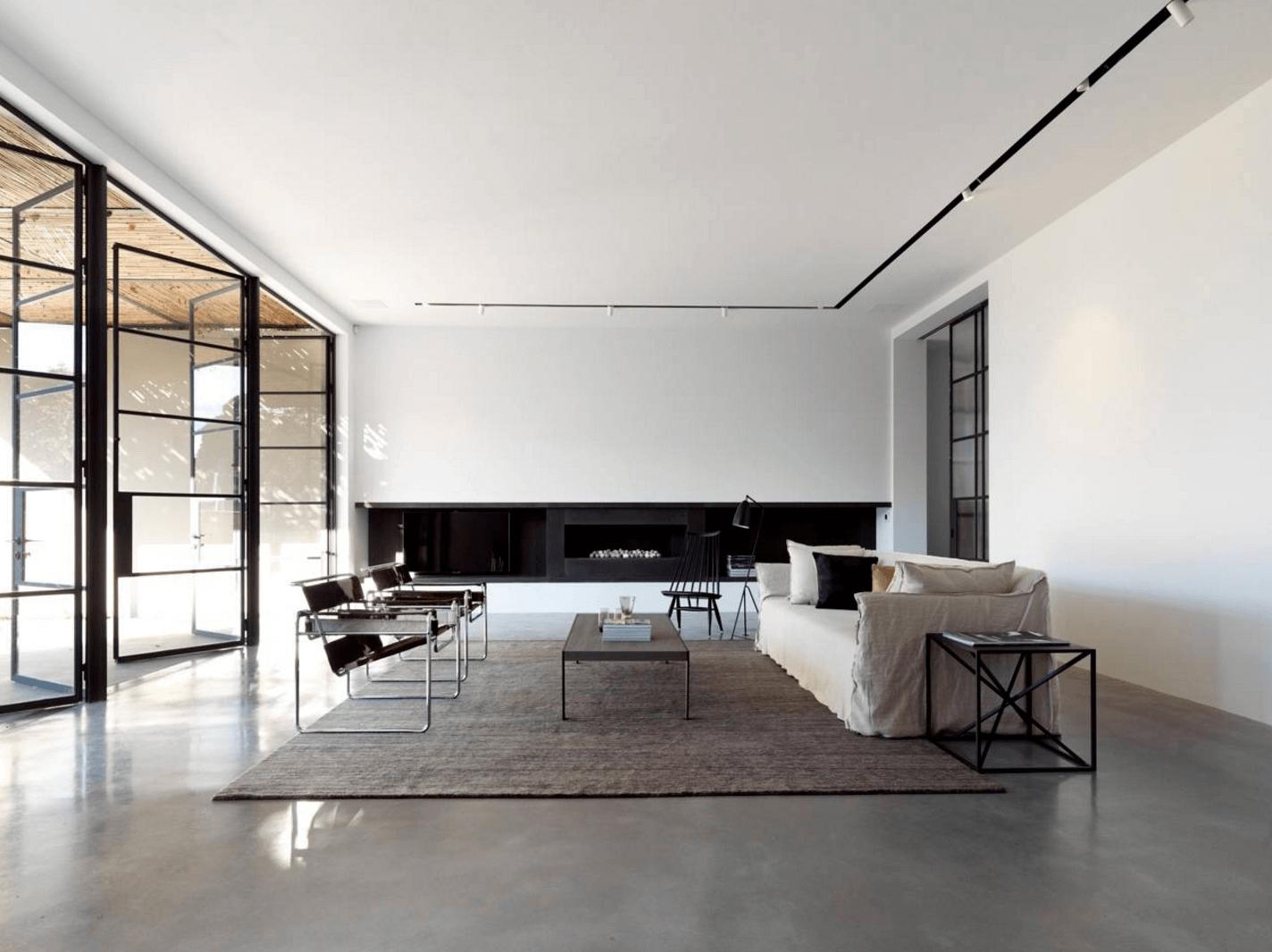 Keberadaan furnitur dapat mempertegas konsep interior hunian - source: freshome.com