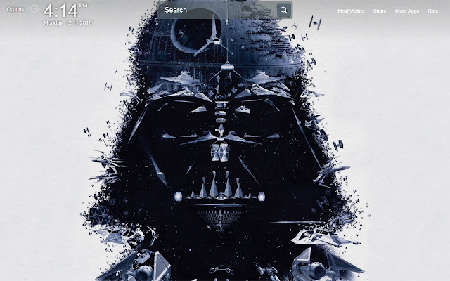 Star Wars Wallpapers Theme New Tab
