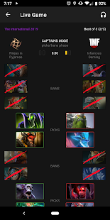 Live Dota Screenshot
