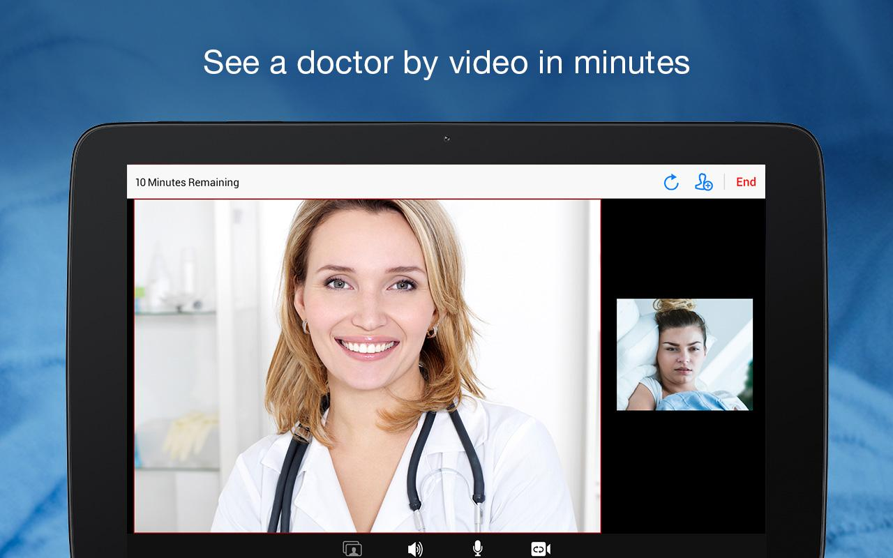 Amwell: Doctor Visits 24/7- screenshot