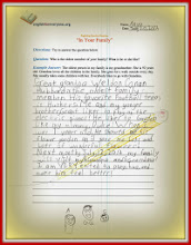 Photo: Anya drafted this letter for a school project. She knew Grandpa was very sick and looked forward to visiting to make him feel better. He died 4 days later. Grandma loved the letter so much that she asked Anya to read it during the funeral.