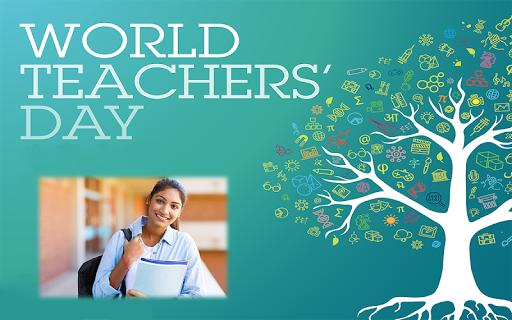 Happy Teachers Day Wish Photo Frame Maker 1.1 screenshots 5