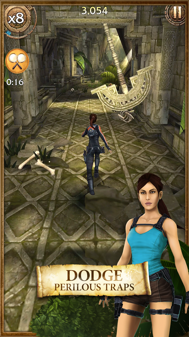 Lara Croft: Relic Run (MOD, coins/gold) free on android 1
