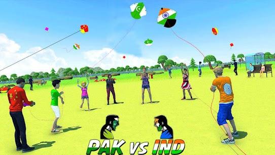India Vs Pakistan Kite Flying Combat 5