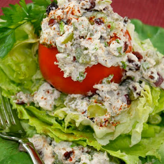 Autumn Chicken Salad with Dried Cranberries and Grapes Recipe