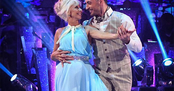 Len Goodman backing Debbie McGee for Strictly success
