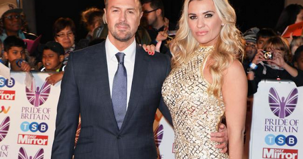 Paddy and Christine McGuinness 'working things through'