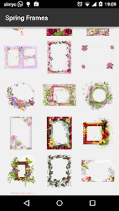 Spring photo Frames screenshot 2