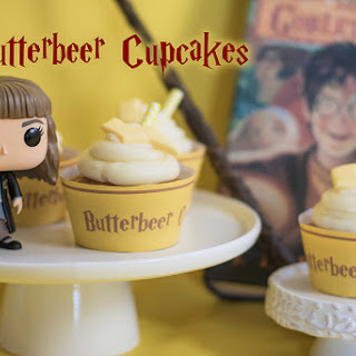 Hermione's Butterbeer Cupcakes