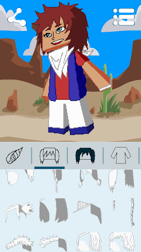 Avatar Maker: Cube Games 3.3.3 screenshots 15