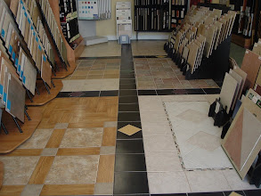 Photo: Tile Blocks for store showroom.